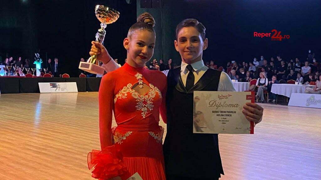 Marius Pădurean și Adelina Stanciu